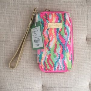 Lilly Pulitzer - iphone wallet NWT